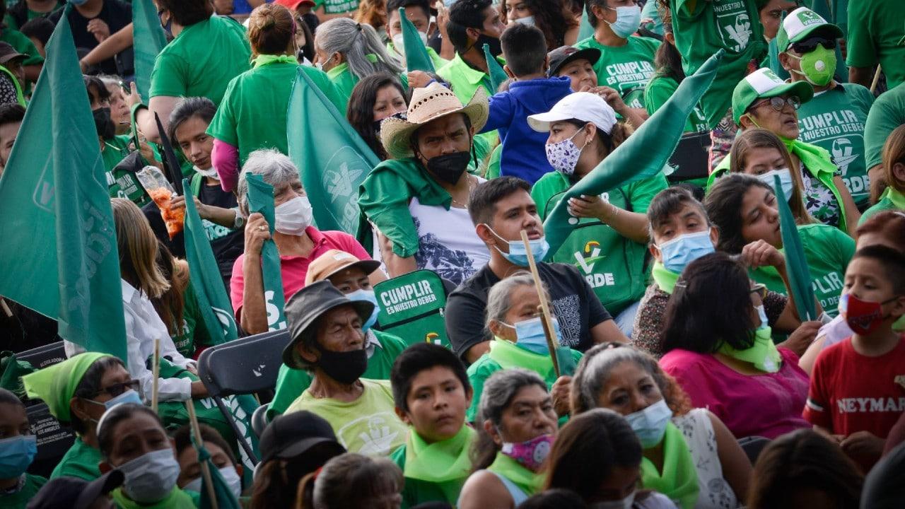 Partido Verde, influencers, propaganda, INE, veda electoral