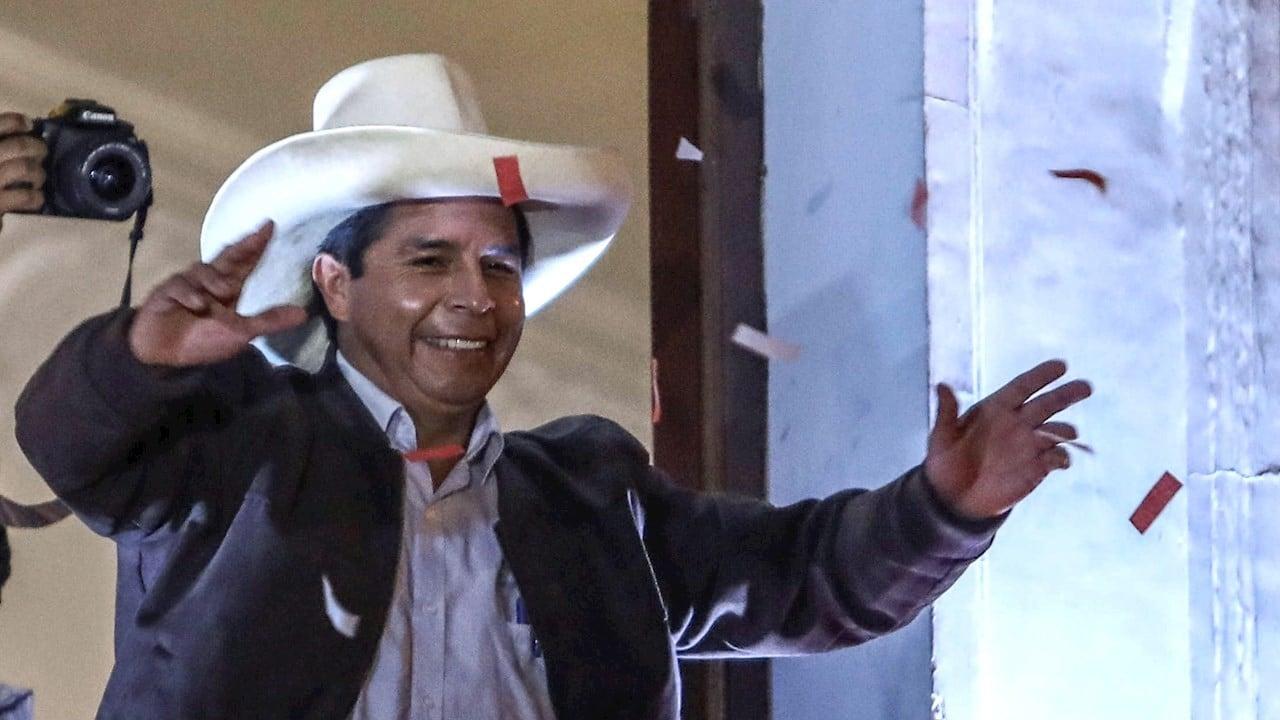 Pedro Castillo llama a la unidad nacional en Perú
