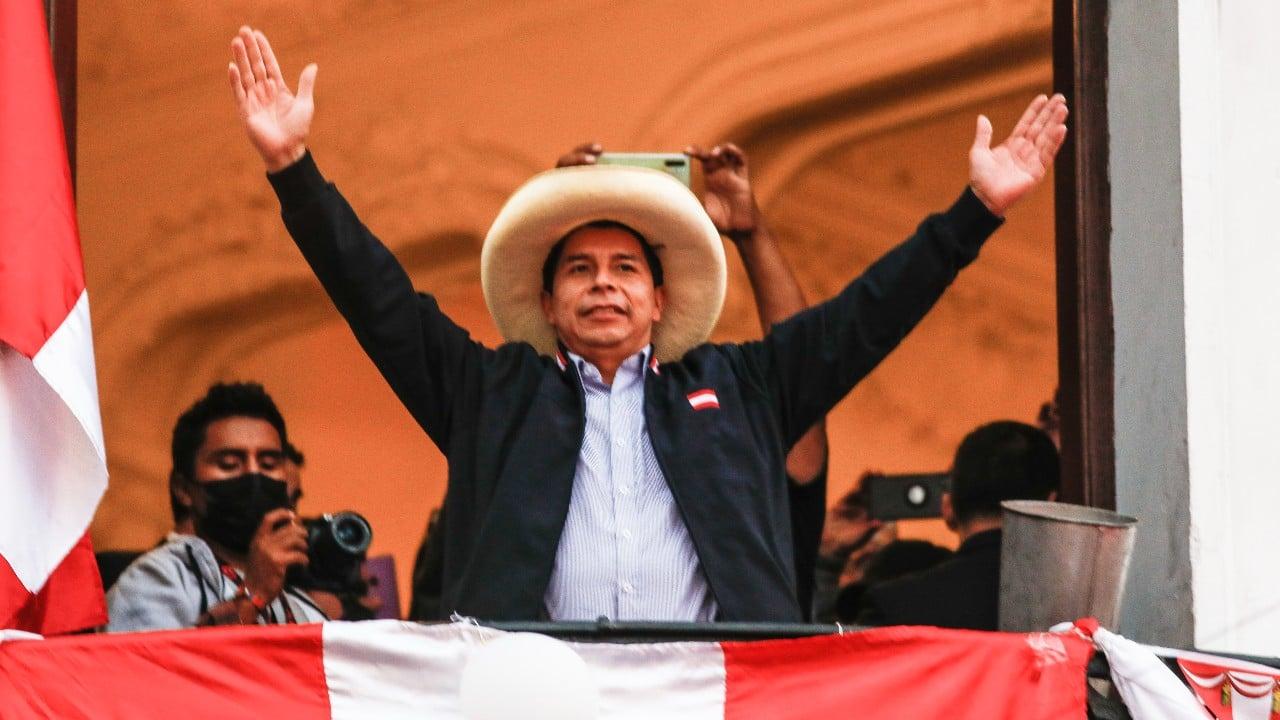 Pedro Castillo se declara ganador de elecciones de Perú tras conteo final de votos