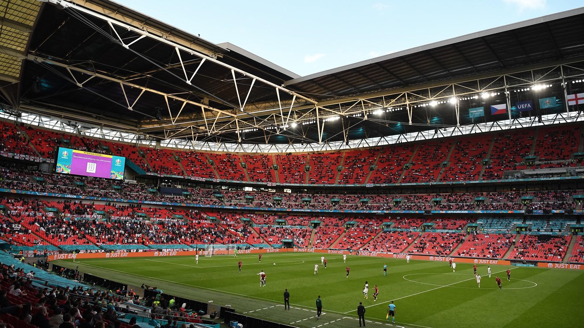 Pese al COVID-19, Semifinal y Final de la Eurocopa recibirán a 60 mil aficionados en el Estadio de Wembley