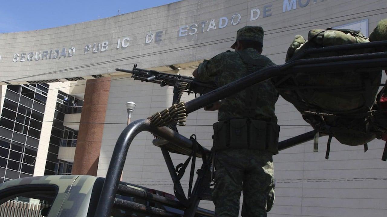 Labores de seguridad en calles de Morelos (Cuartoscuro, archivo)