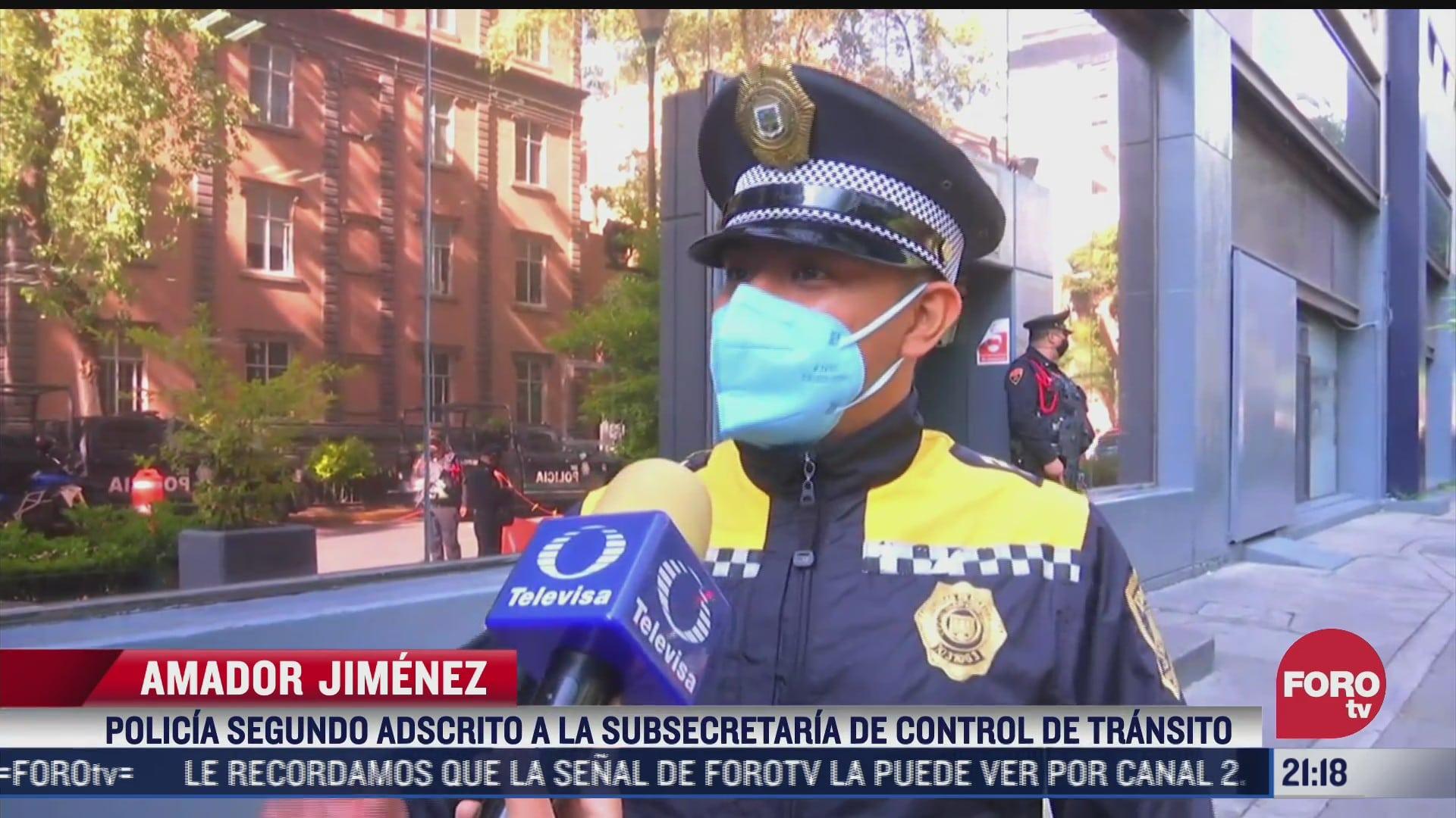 policias de transito en cdmx expuestos a agresiones