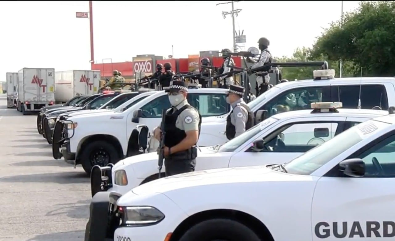 Por falta de seguridad, gobierno de Nuevo León supervisa la carretera Monterrey-Nuevo Laredo