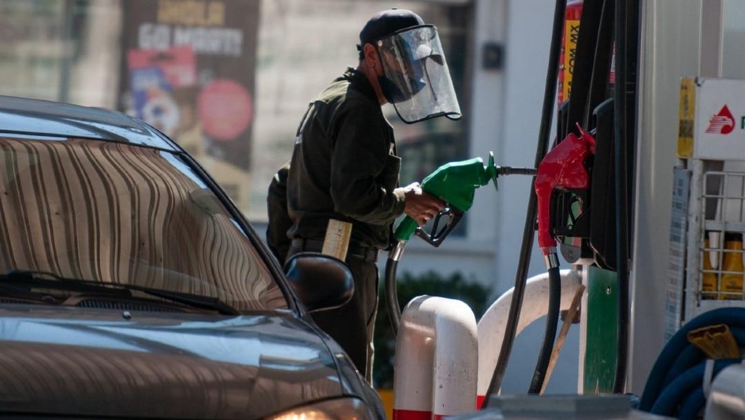 Este viernes, el precio de la gasolina en CDMX es de 20.91 pesos por litro de magna, 22.66 la premium, y el diésel 21.64