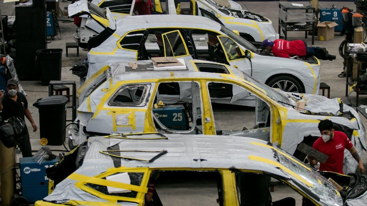 Producción y exportación de autos en México subió en interanual de mayo, revela Inegi