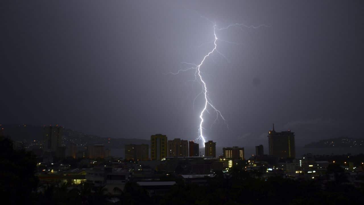 Pronostican lluvias con descargas eléctricas y granizadas en Chiapas, Oaxaca, Puebla y Veracruz