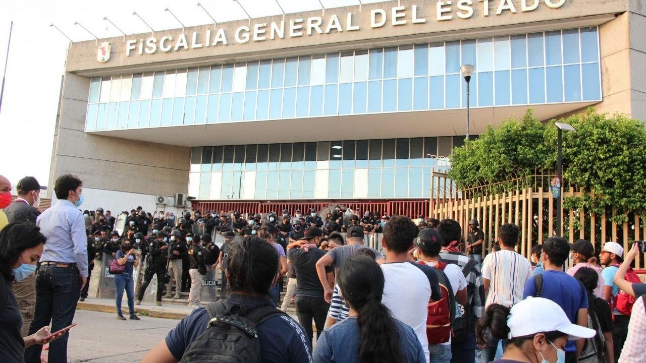 Liberan-a-normalistas-detenidos-en-Chiapas