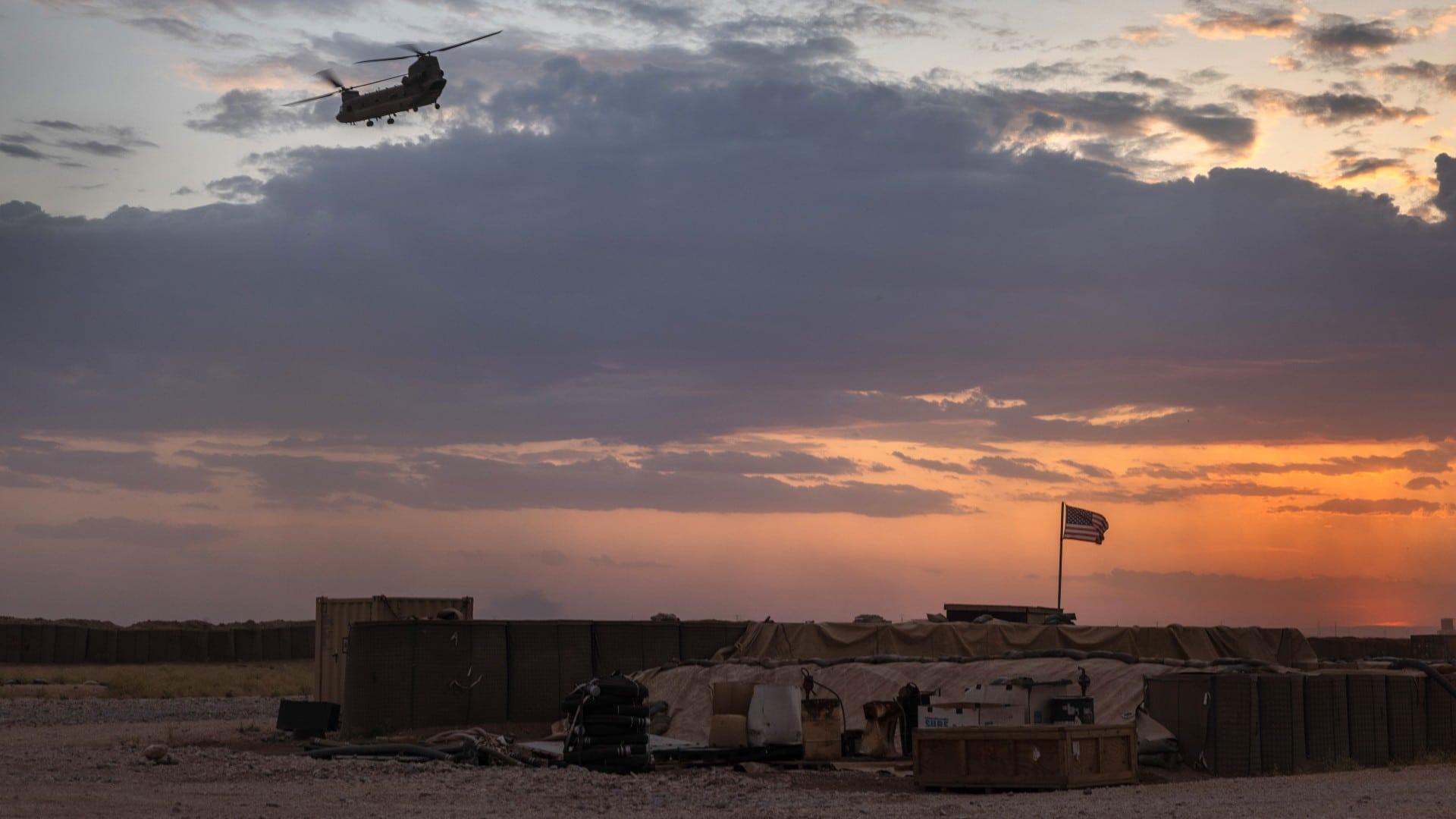 Proyectiles impactan base militar de EEUU en Siria