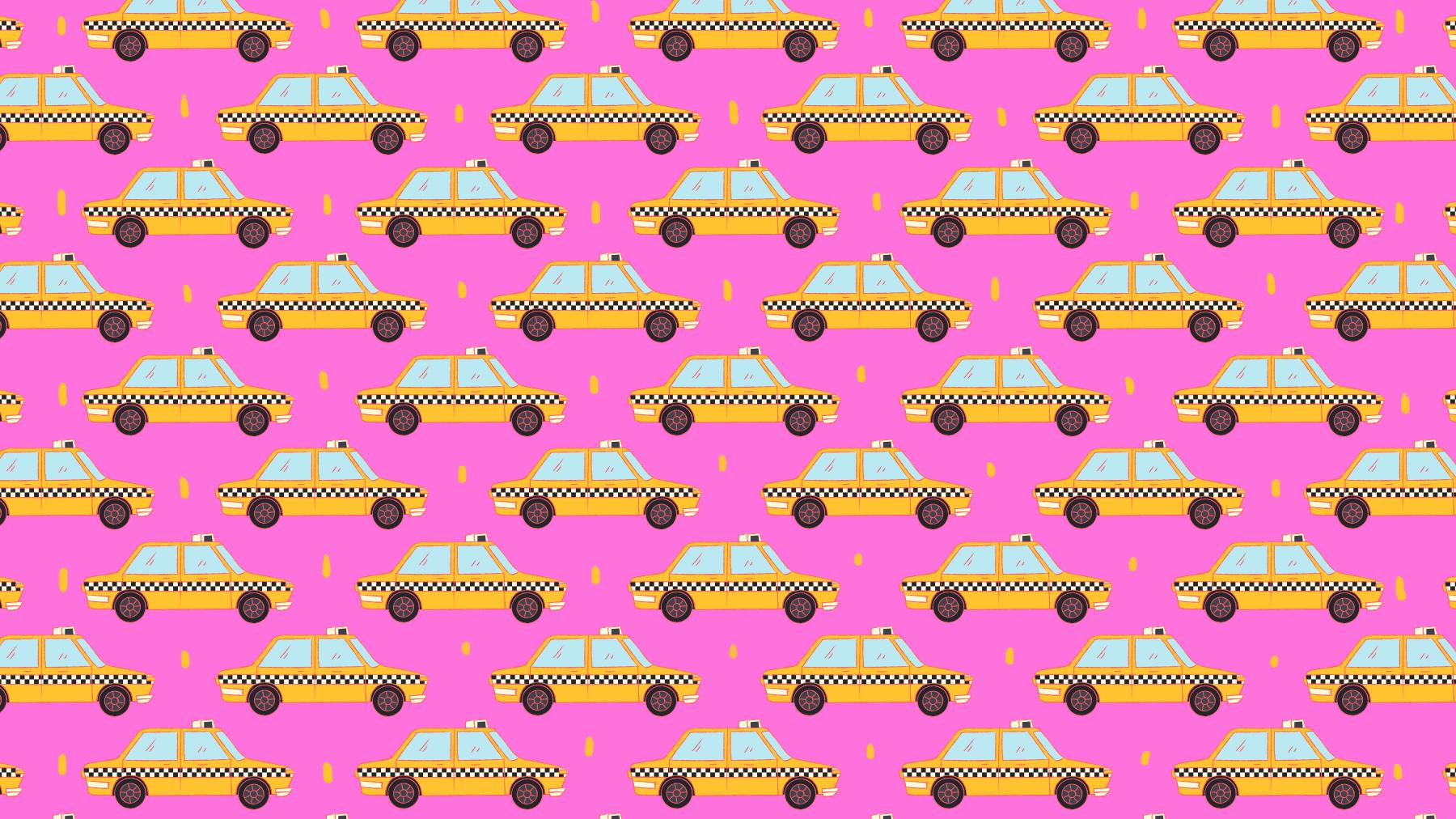 Viral: Reto visual encuentra los taxis en sentido contrario