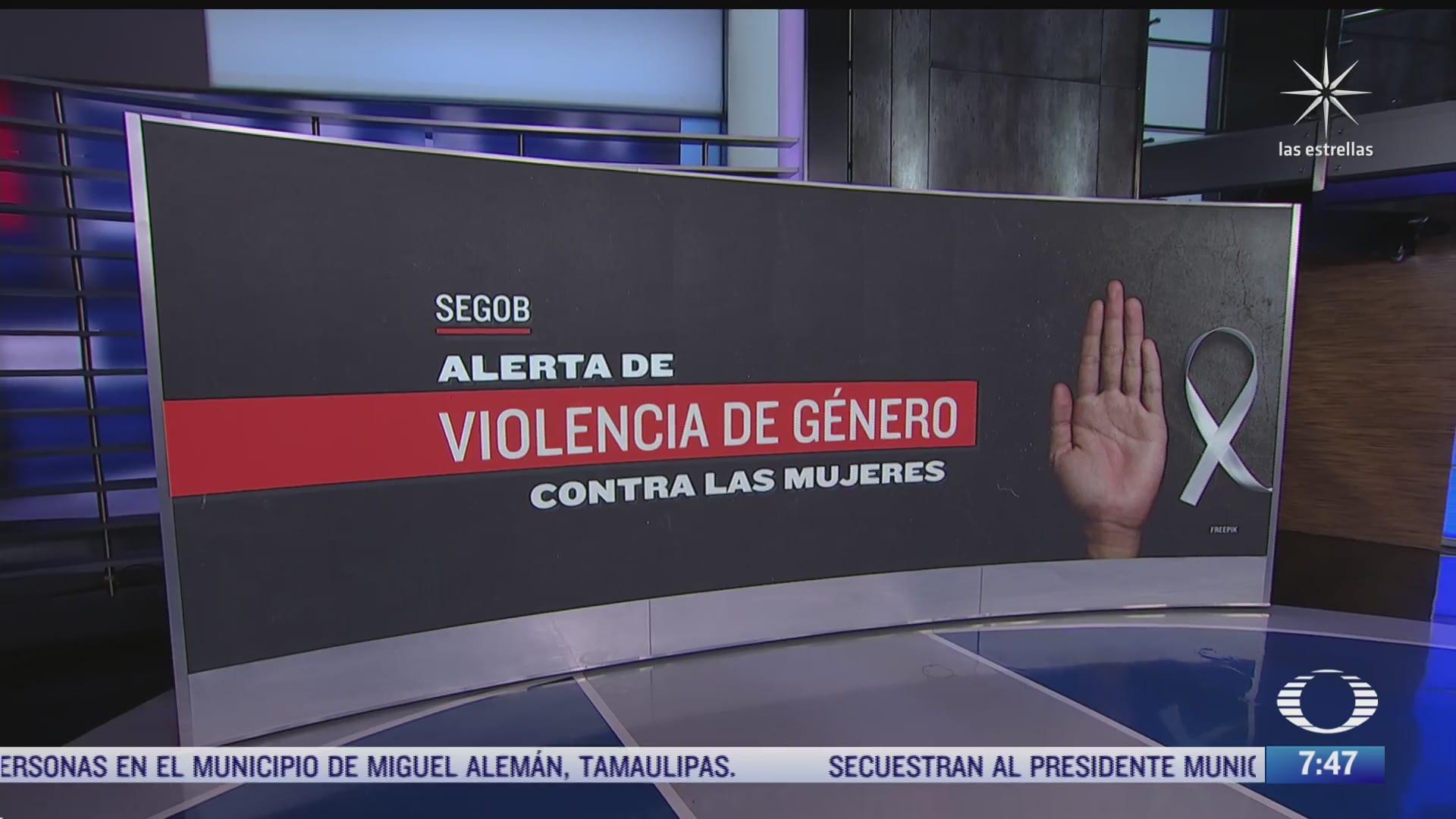 que es la alerta de violencia de genero contra las mujeres