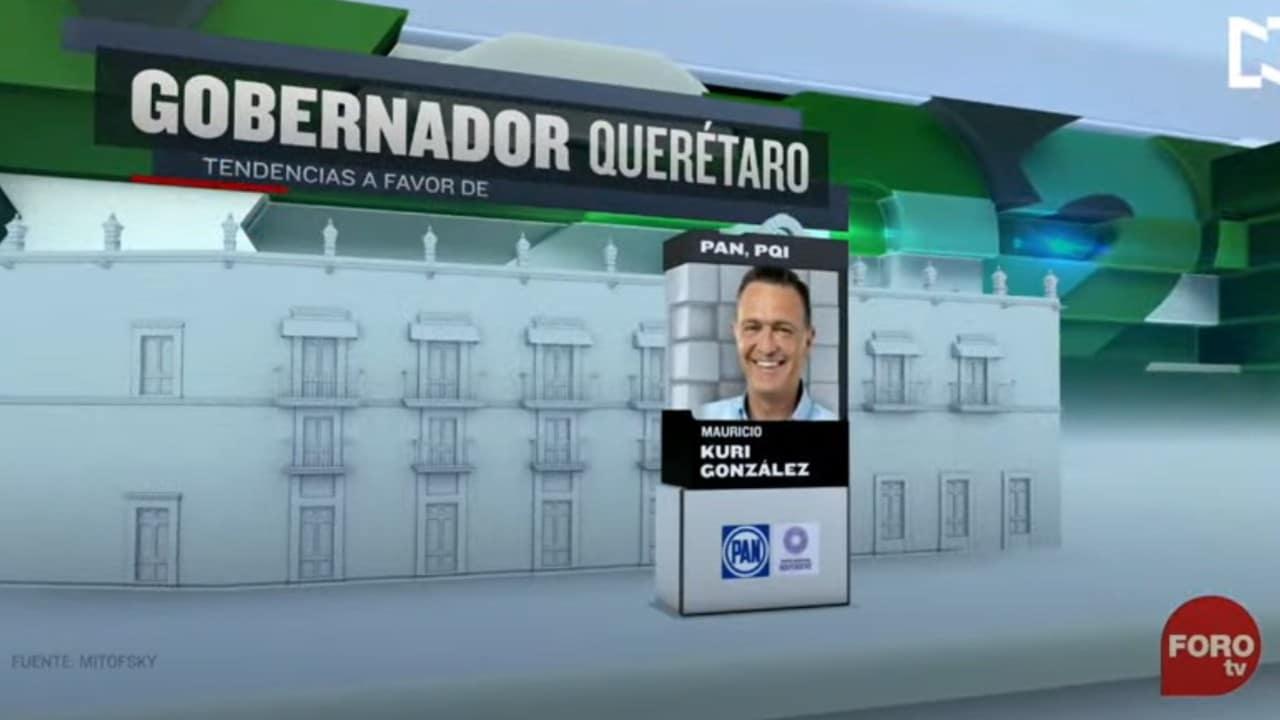 PAN ganaría la gubernatura en Querétaro, según Consulta Mitofsky