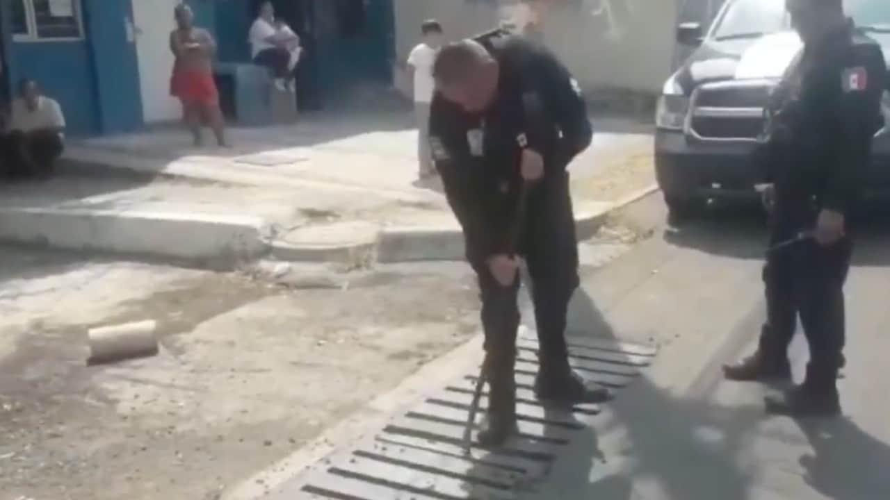 Rescatan a hombre que estuvo atrapado en alcantarilla durante tres días en Tonalá, Jalisco