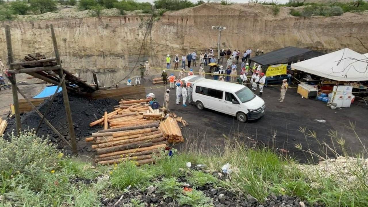 Rescatan cuerpo del séptimo y último minero atrapado en mina Micarán, en Múzquiz, Coahuila