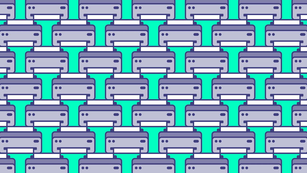 Busca dos impresoras con la hoja atorada, ilustración