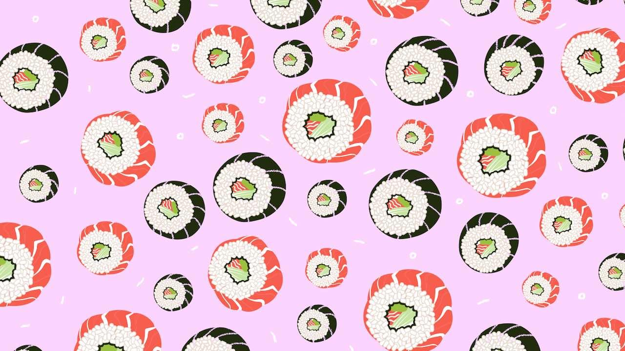 Reto Visual Viral Sushi Imagen