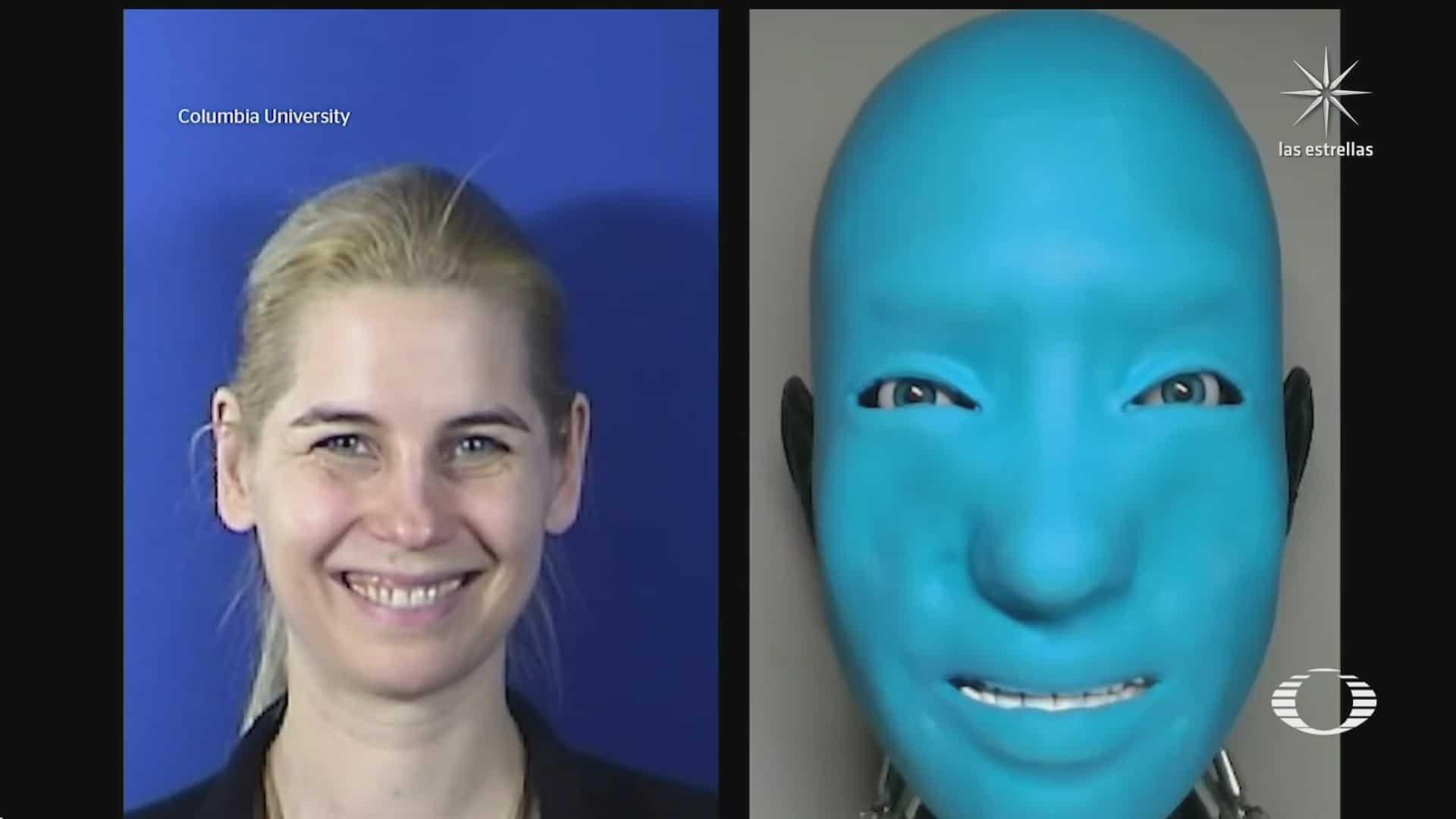 robots humanoides ya no tendran un rostro inamovible