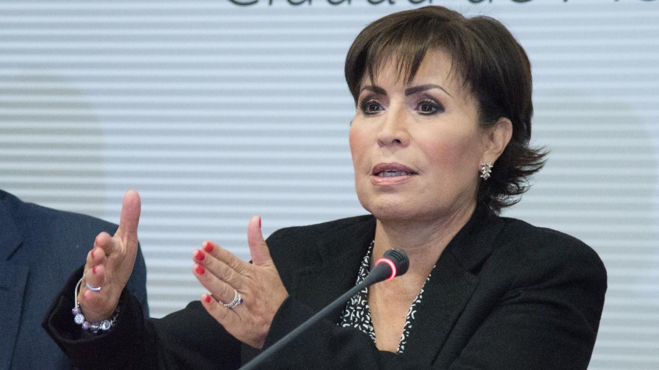 Fotografía de Rosario Robles, exsecretaria de Desarrollo Agrario Territorial y Urbano (SEDATU)