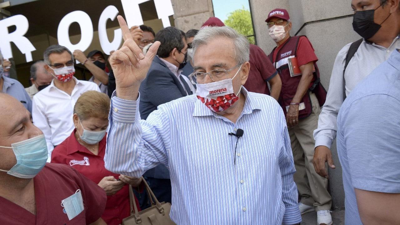 Rubén Rocha Moya, del Morena y PAS, aventaja para la gubernatura de Sinalo