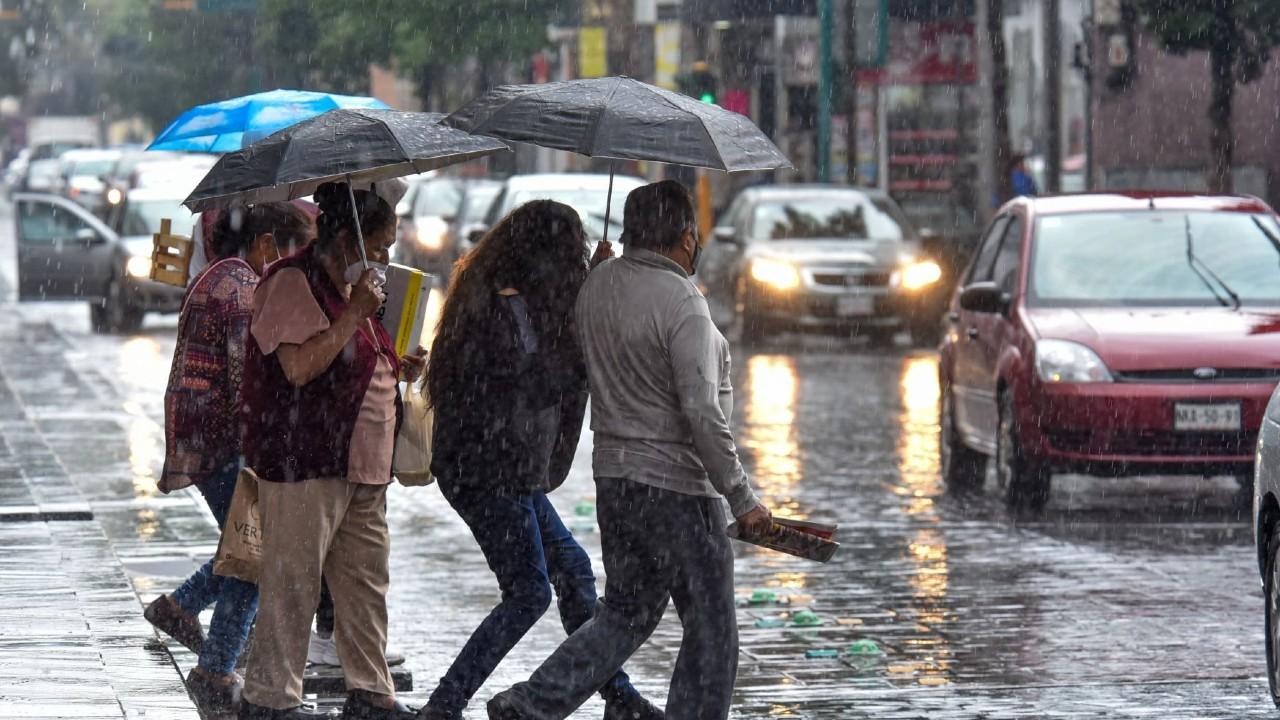 Se esperan lluvias intensas y granizadas en CDMX, Nuevo León, Puebla, Tamaulipas y Veracruz