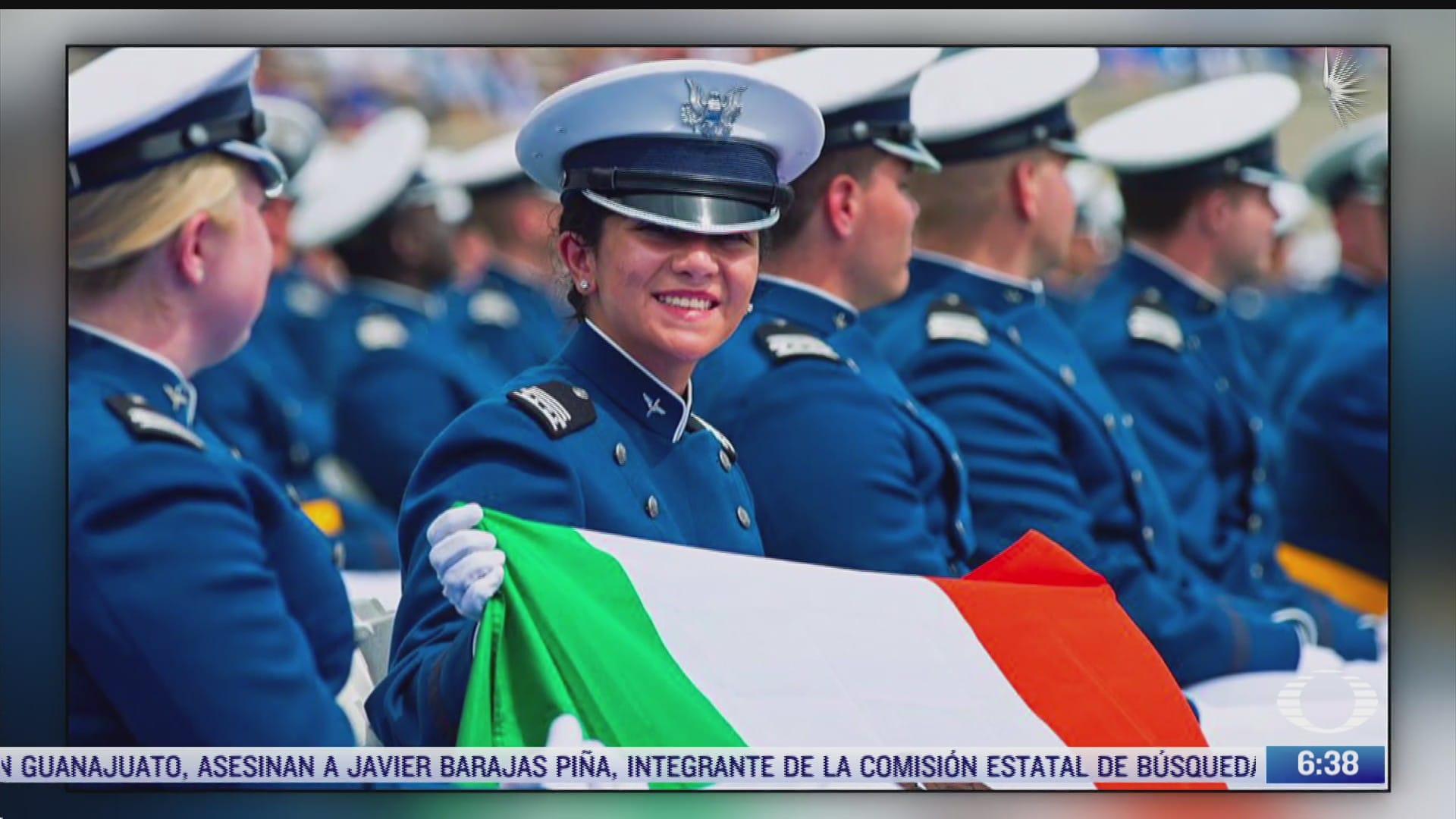 se gradua primera mujer militar mexicana en eeuu
