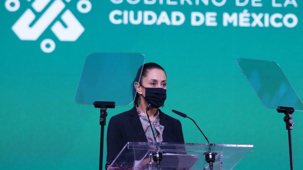 Claudia Sheinbaum, jefa de Gobierno de la Ciudad de México, viernes 11 de junio de 2021 (Cuartoscuro)