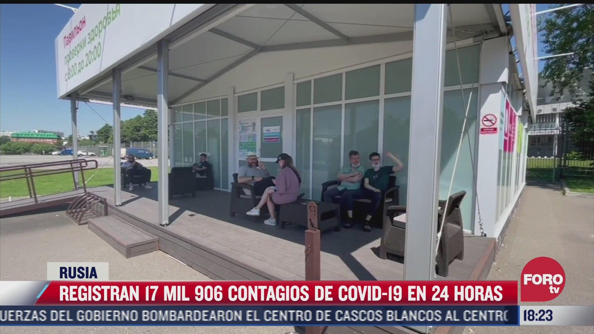 siguen en aumento casos de covid 19 en rusia
