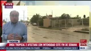 sistema de baja ocasiona lluvias fuertes en ocho estados de mexico