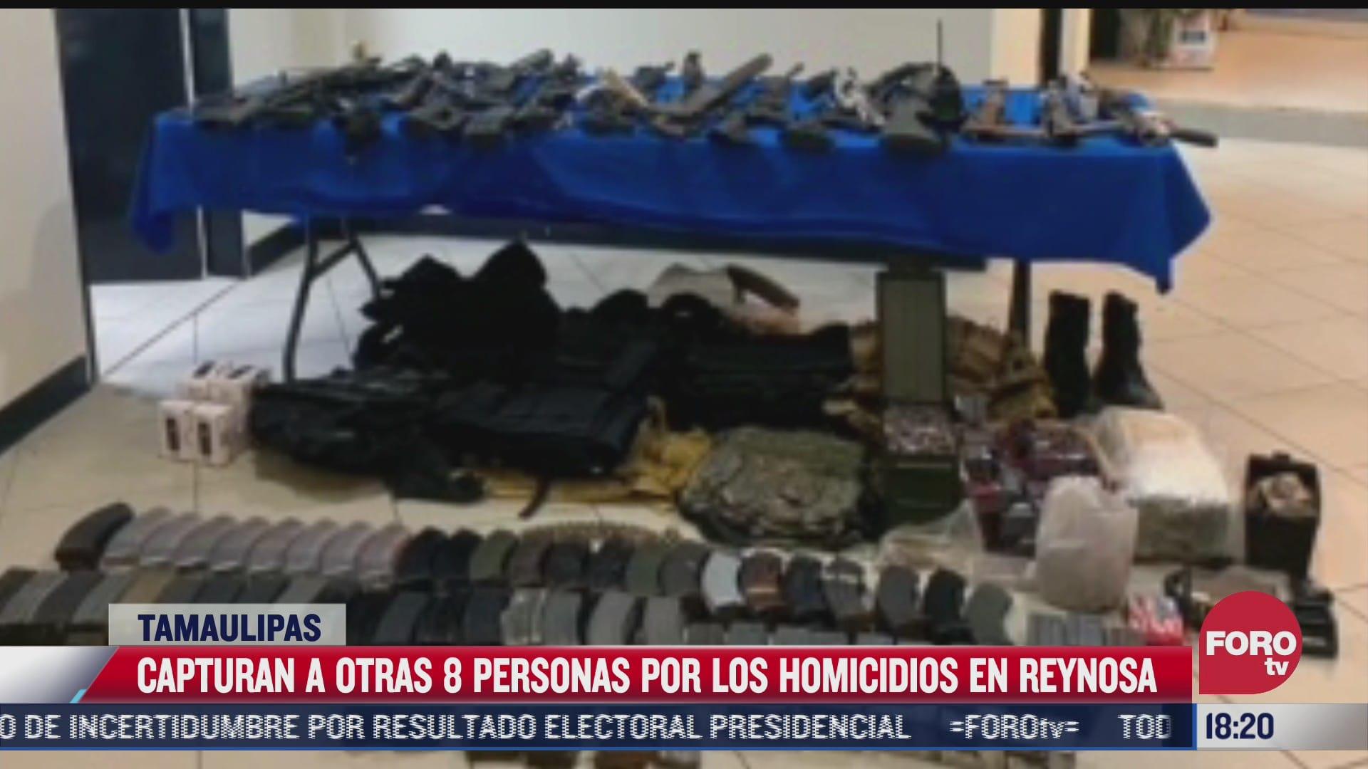suman 13 detenidos por matanza en reynosa tamaulipas