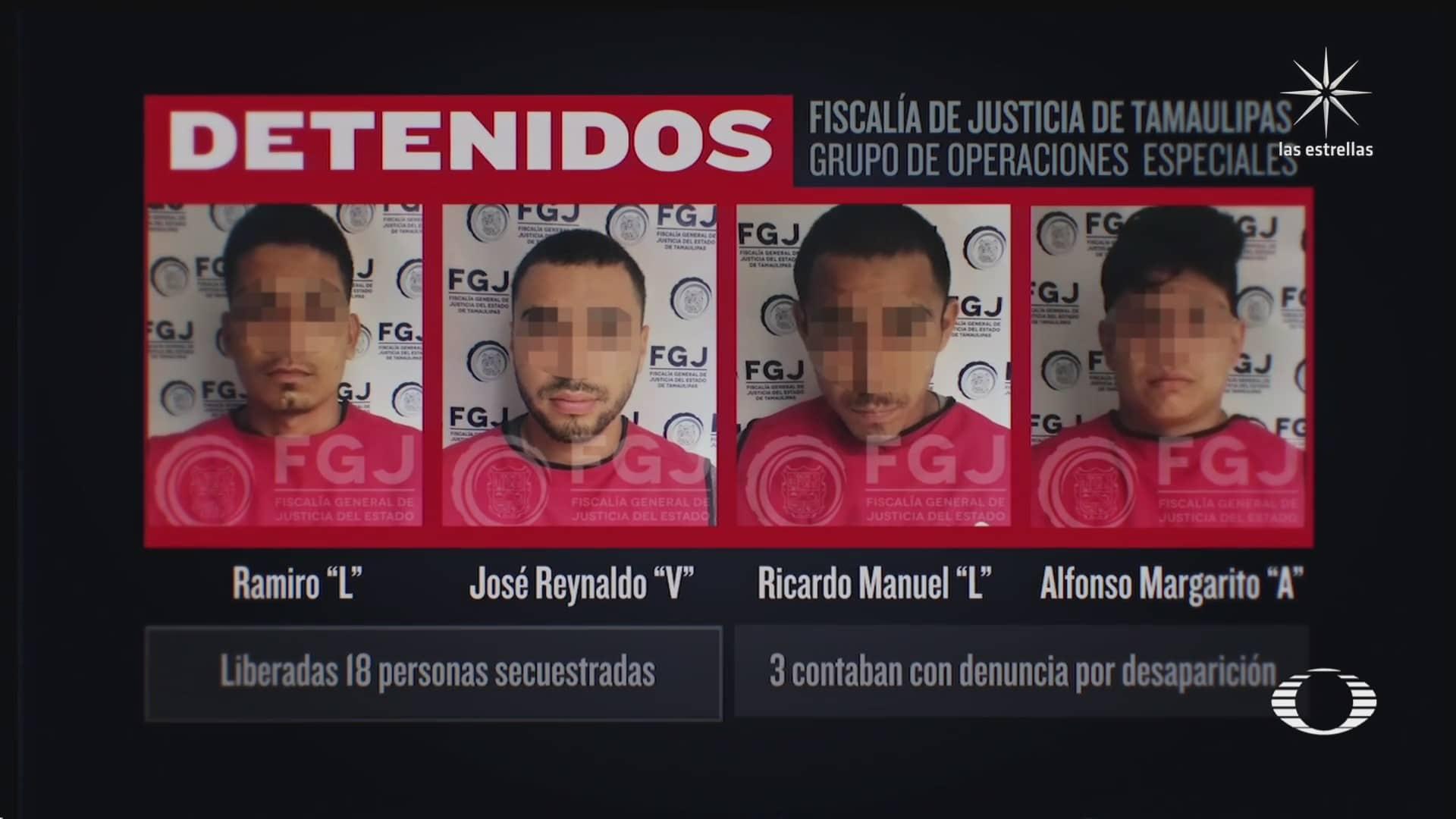 suman cinco detenidos por masacre en reynosa