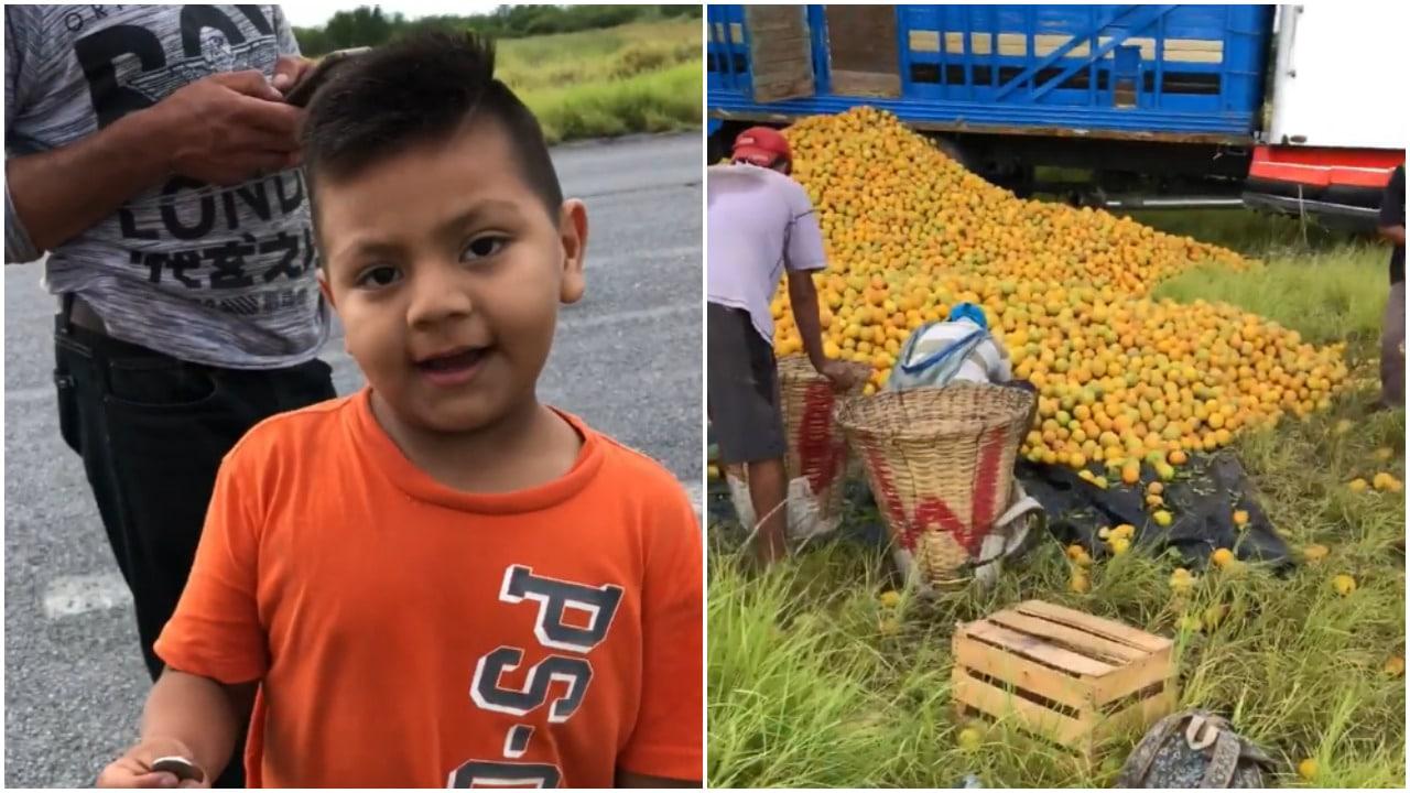 naranjas, rapiña, Tamaulipas, Facebook, video viral
