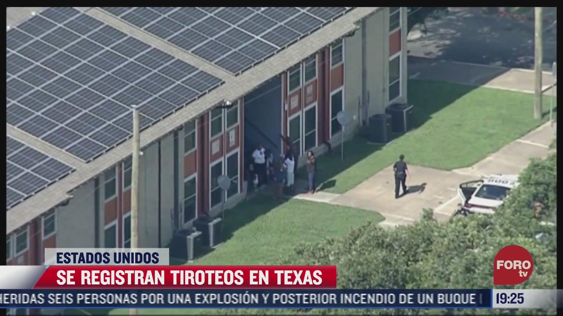 texas registra dos tiroteos con multiples heridos