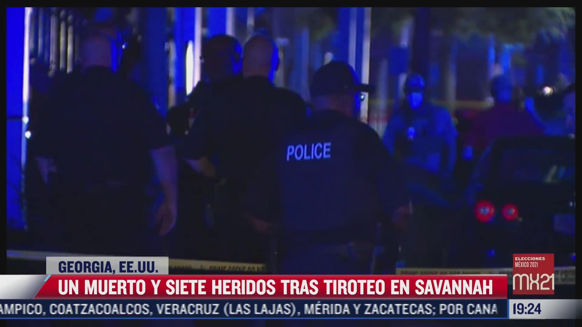 tiroteo deja un muerto en georgia estados unidos