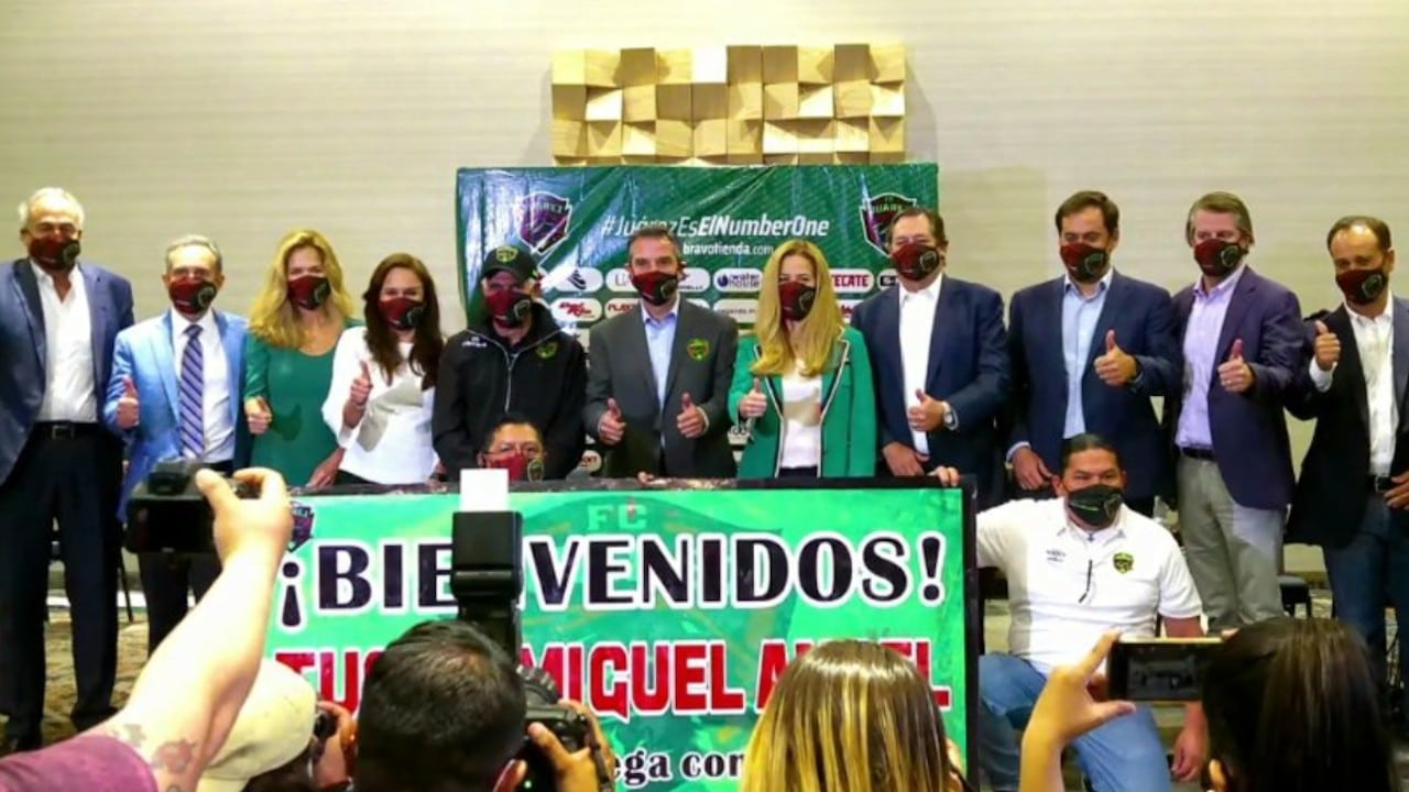 Presentación de Ricardo 'Tuca' Ferreti (Facebook: FC Juárez)