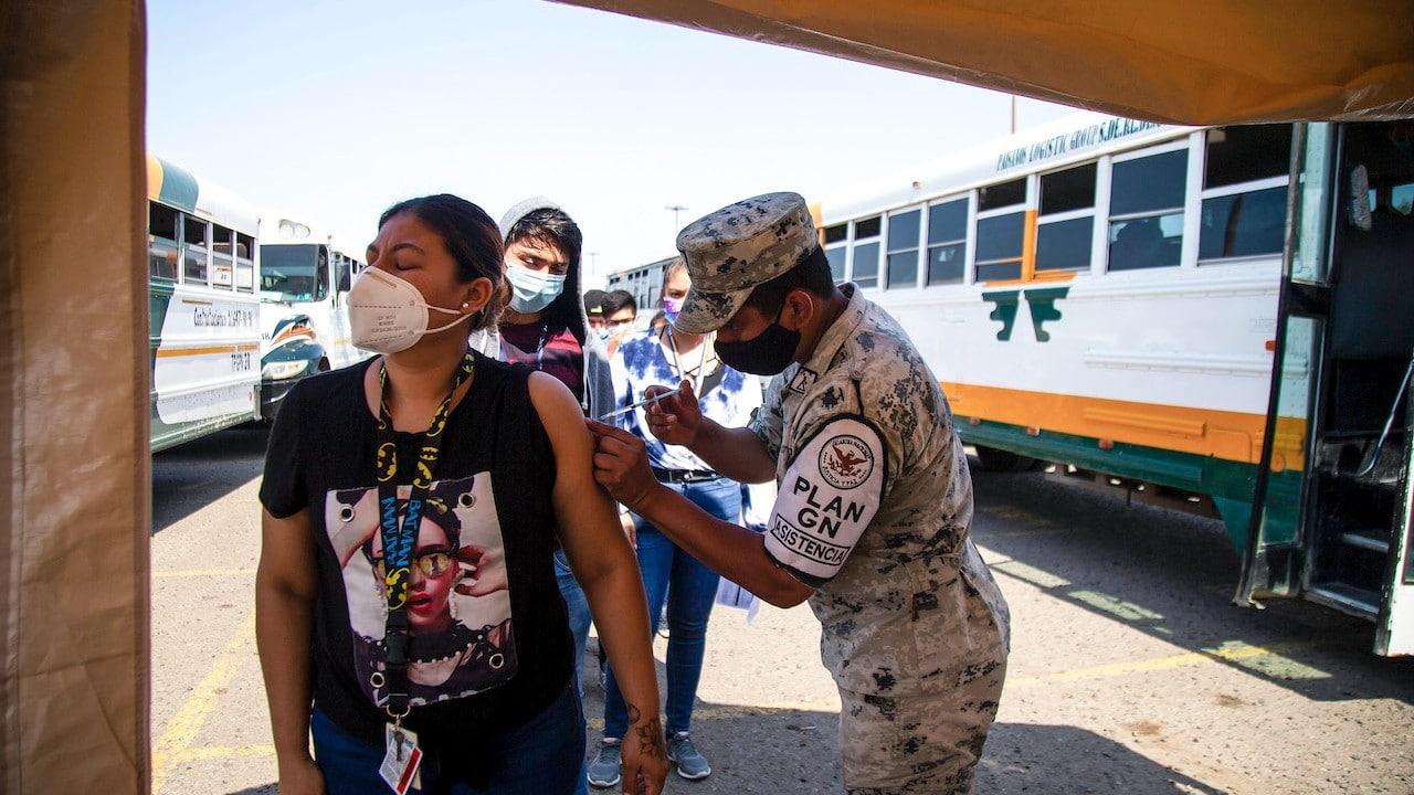 Vacunación COVID-19 en México (Getty Images)
