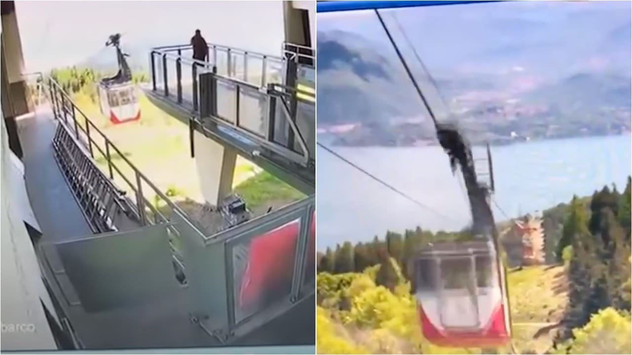 Videos Caída Cabina Teleférico Italia