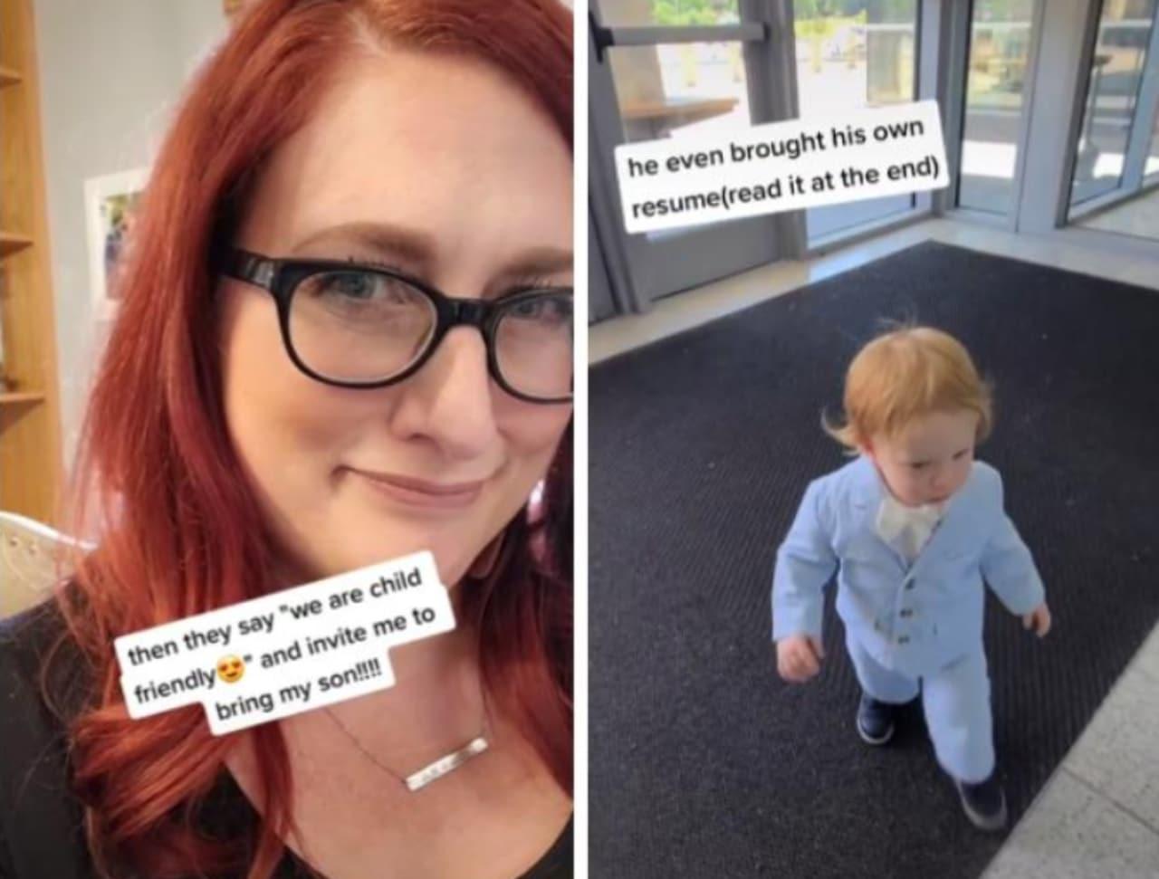 Madre llevó a su bebé a entrevista de trabajo en Missouri