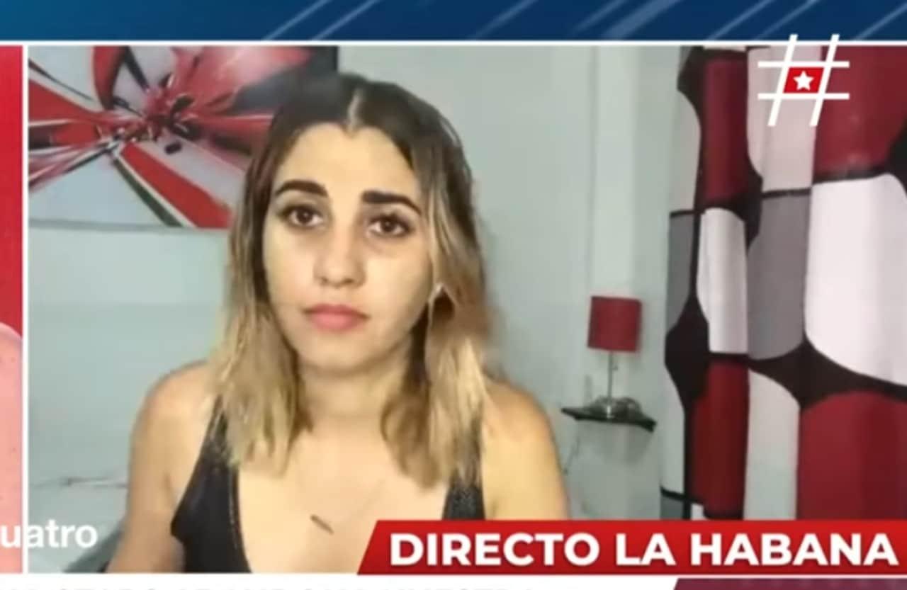 Cuba: Policía detiene a youtuber Dina Stars en vivo