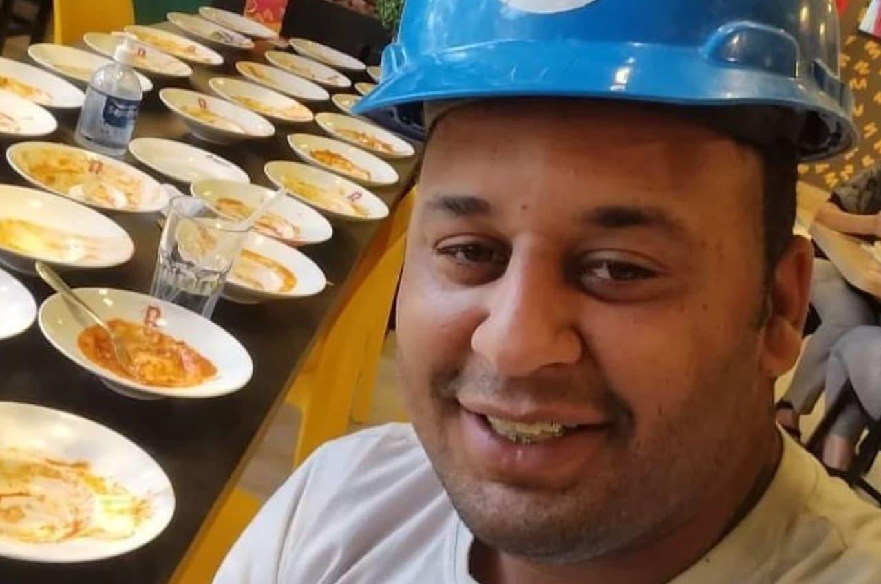 Brasil: corren a hombre por comer 15 platos en restaurante