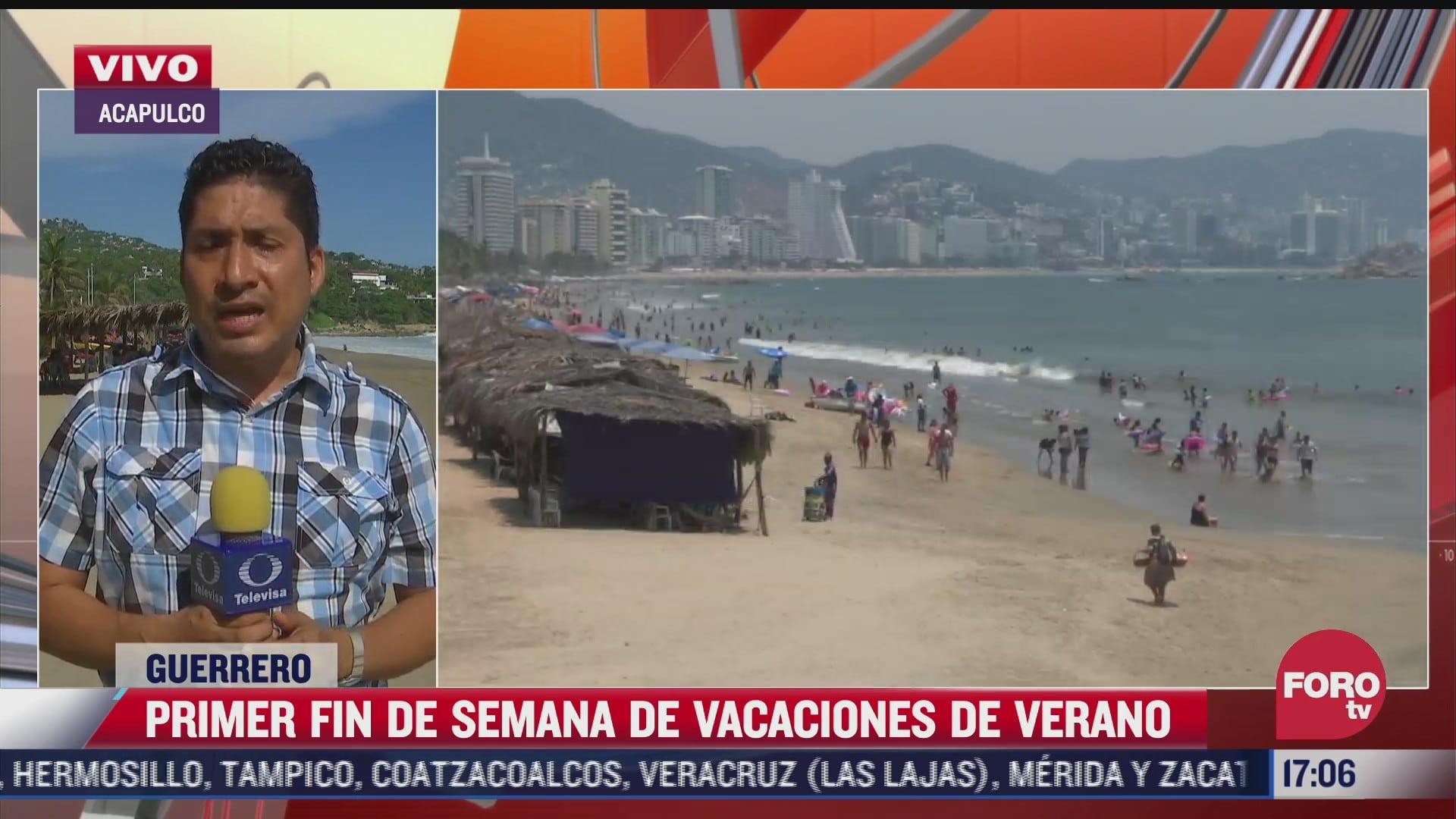acapulco espera medio millon de vacacionistas este verano