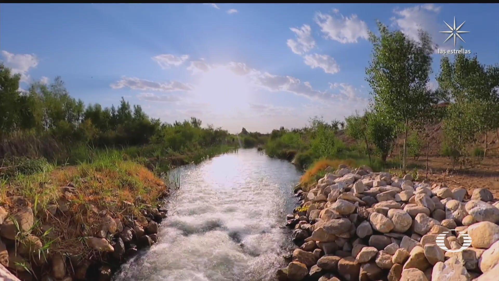 agua del rio colorado vuelve a conectarse con el mar de cortes