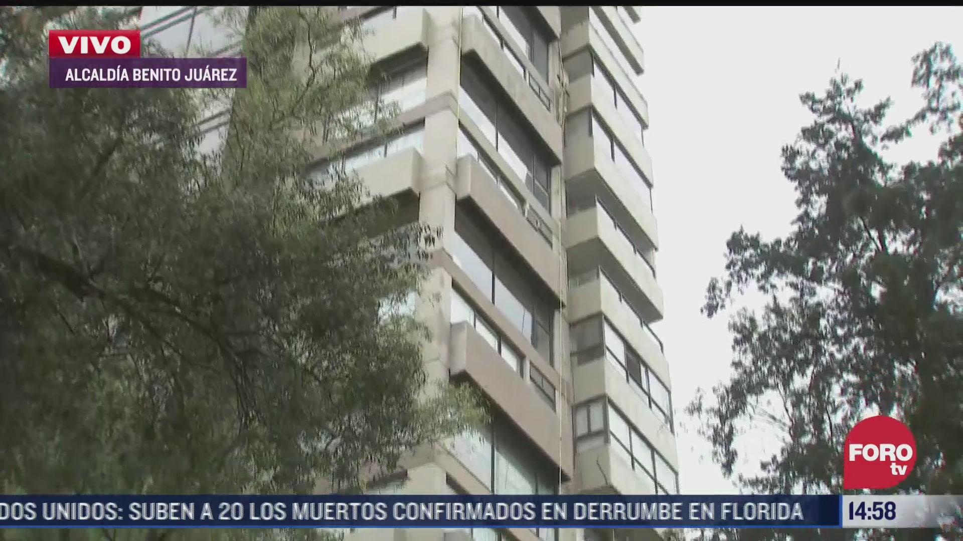 albanil cae 16 pisos y muere en hospital de cdmx