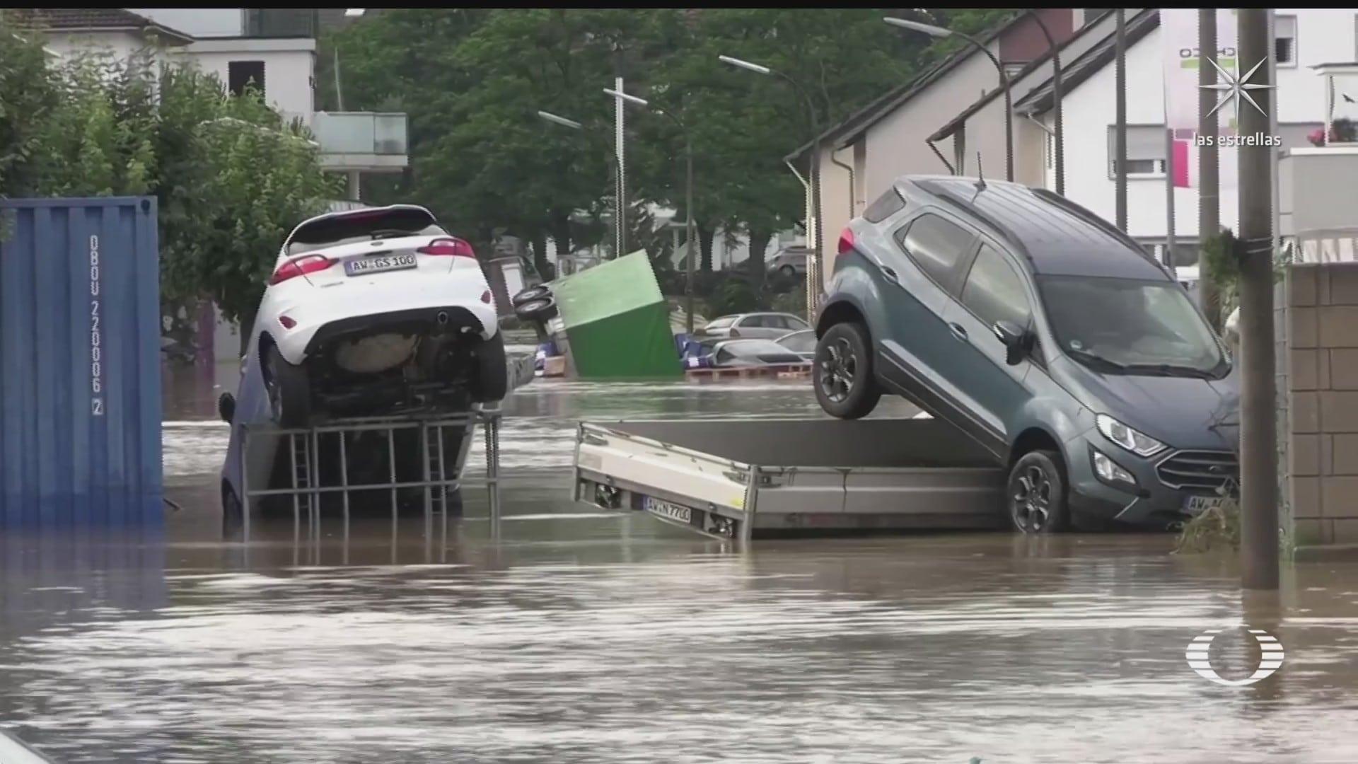 alemania sufre por intensas lluvias