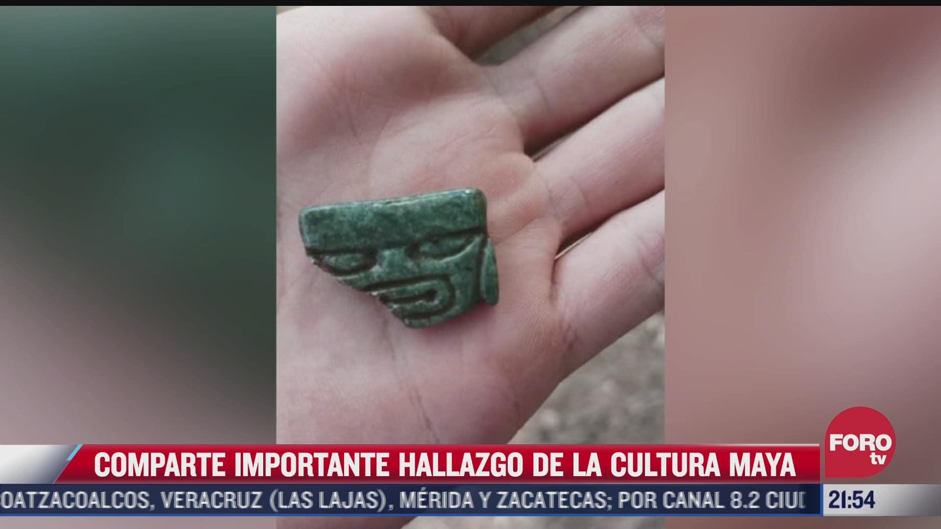 amlo comparte importante hallazgo de la cultura maya