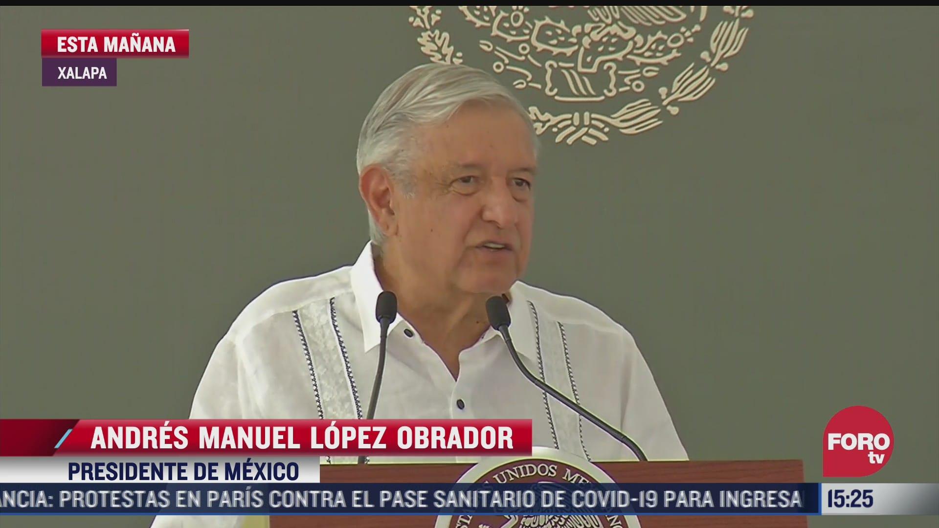 amlo pide a mexicanos defender la soberania