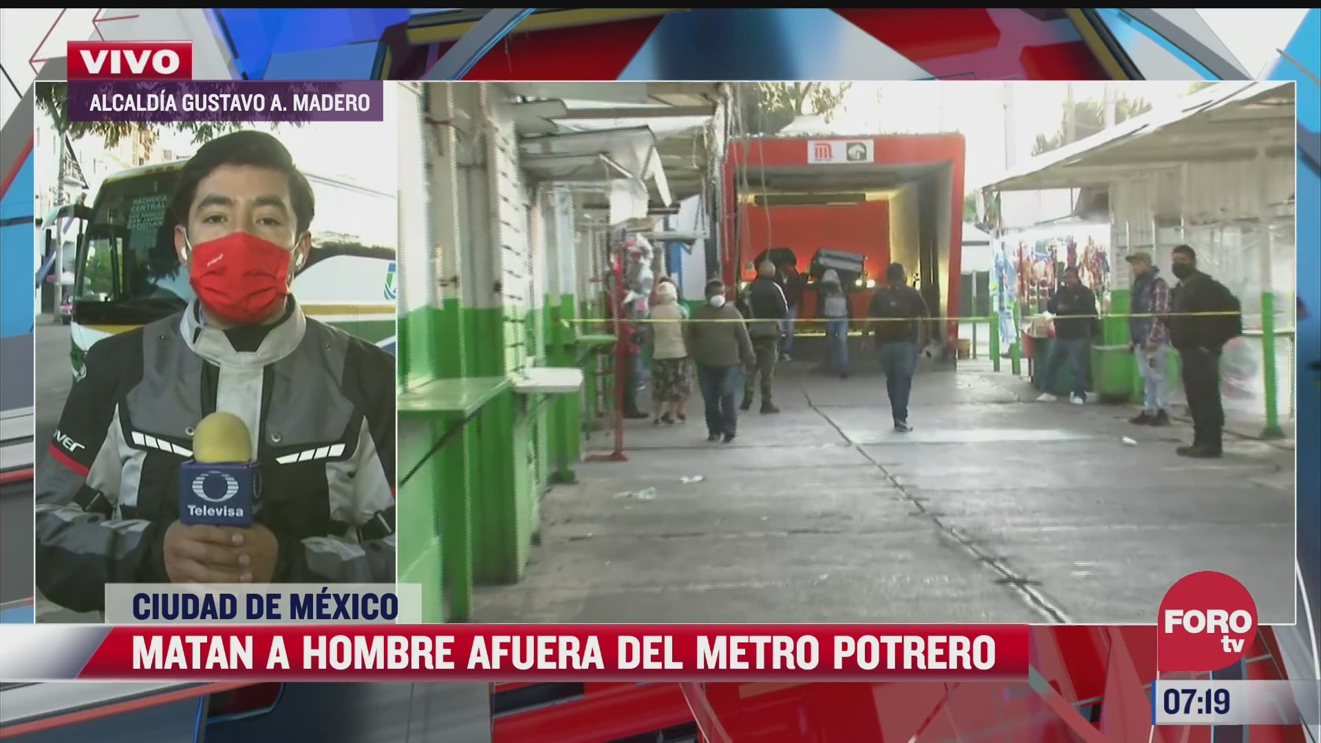 asesinan a hombre afuera del metro potrero en cdmx