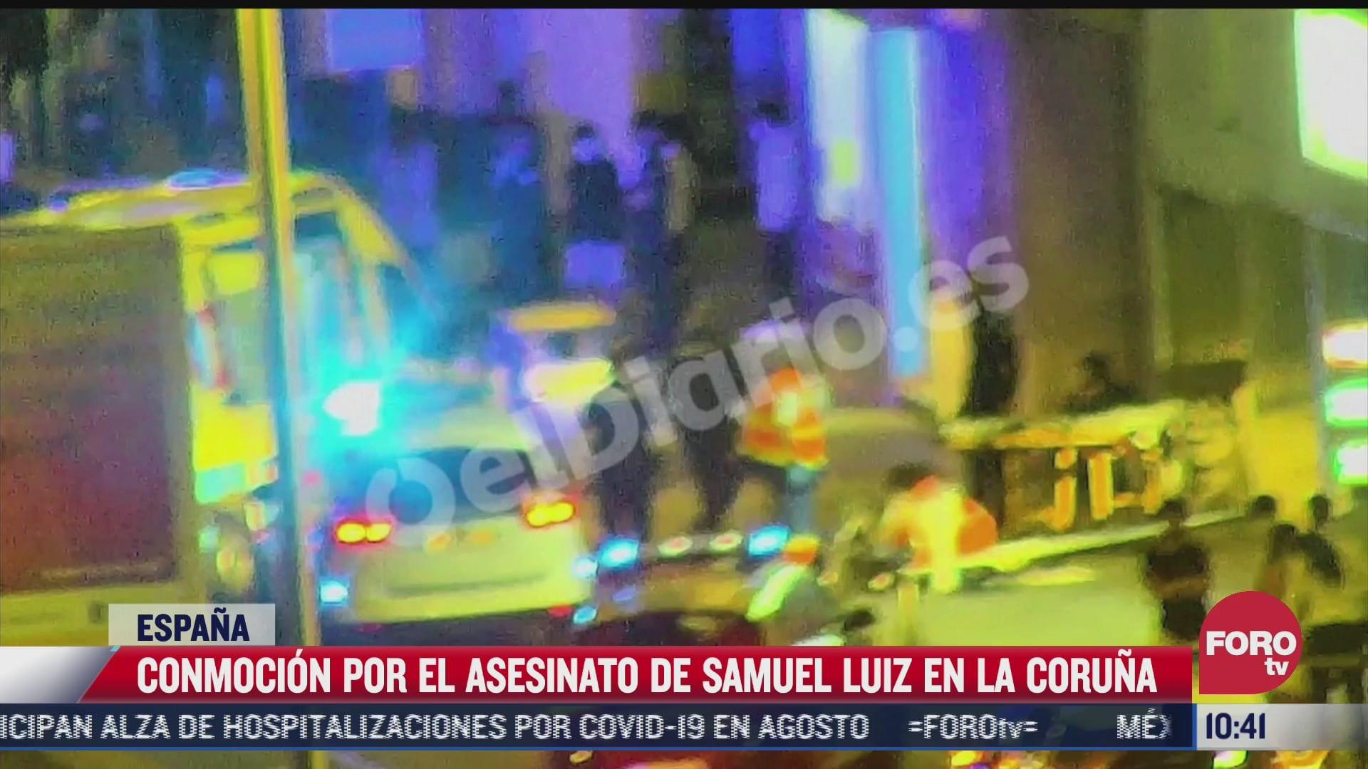 asesinato de samuel luiz causa conmocion
