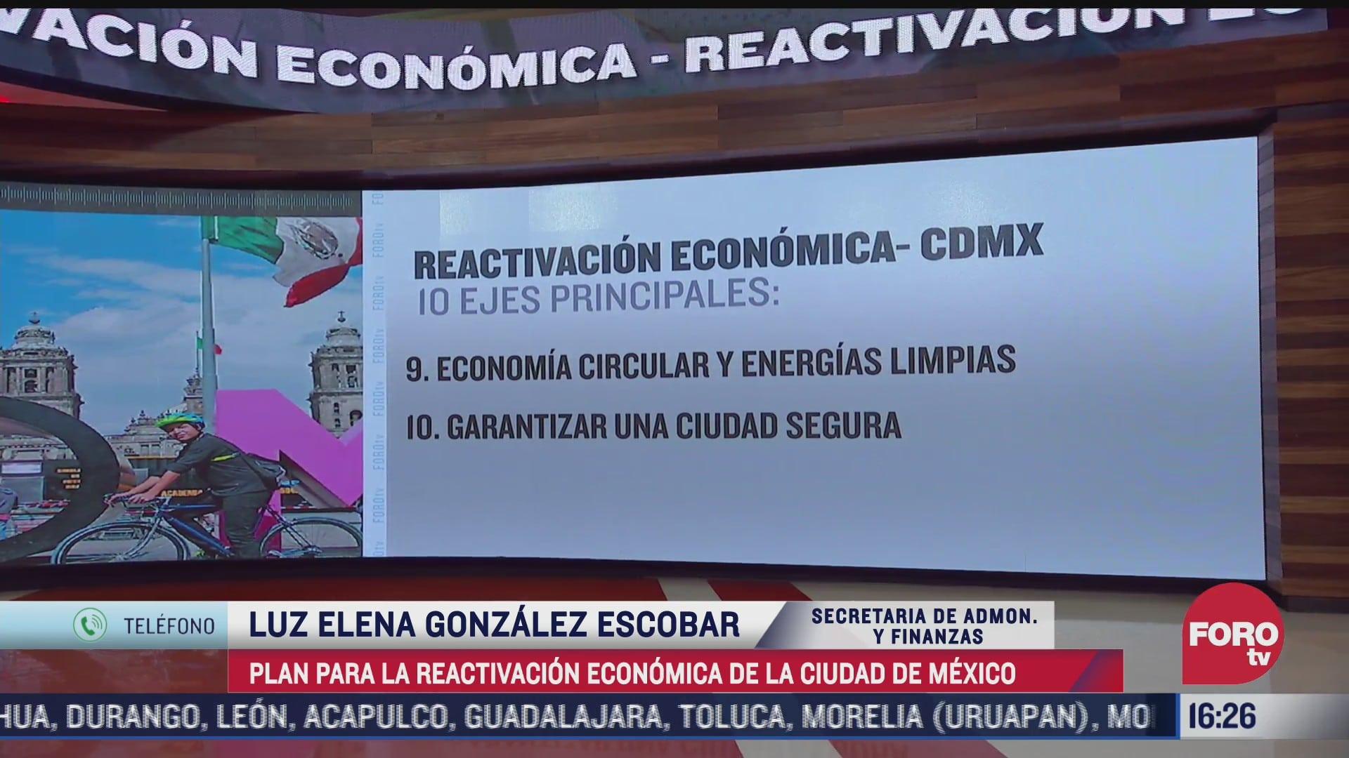 asi funcionara el plan para la reactivacion economica de cdmx
