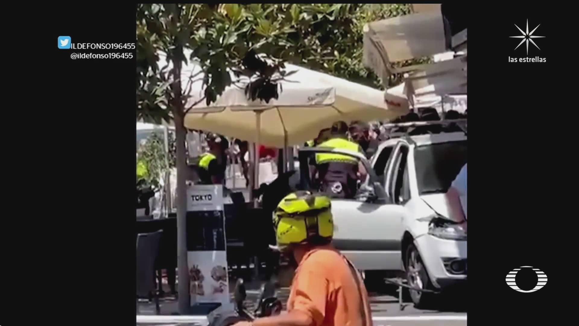 Atropellamiento en Marbella, España