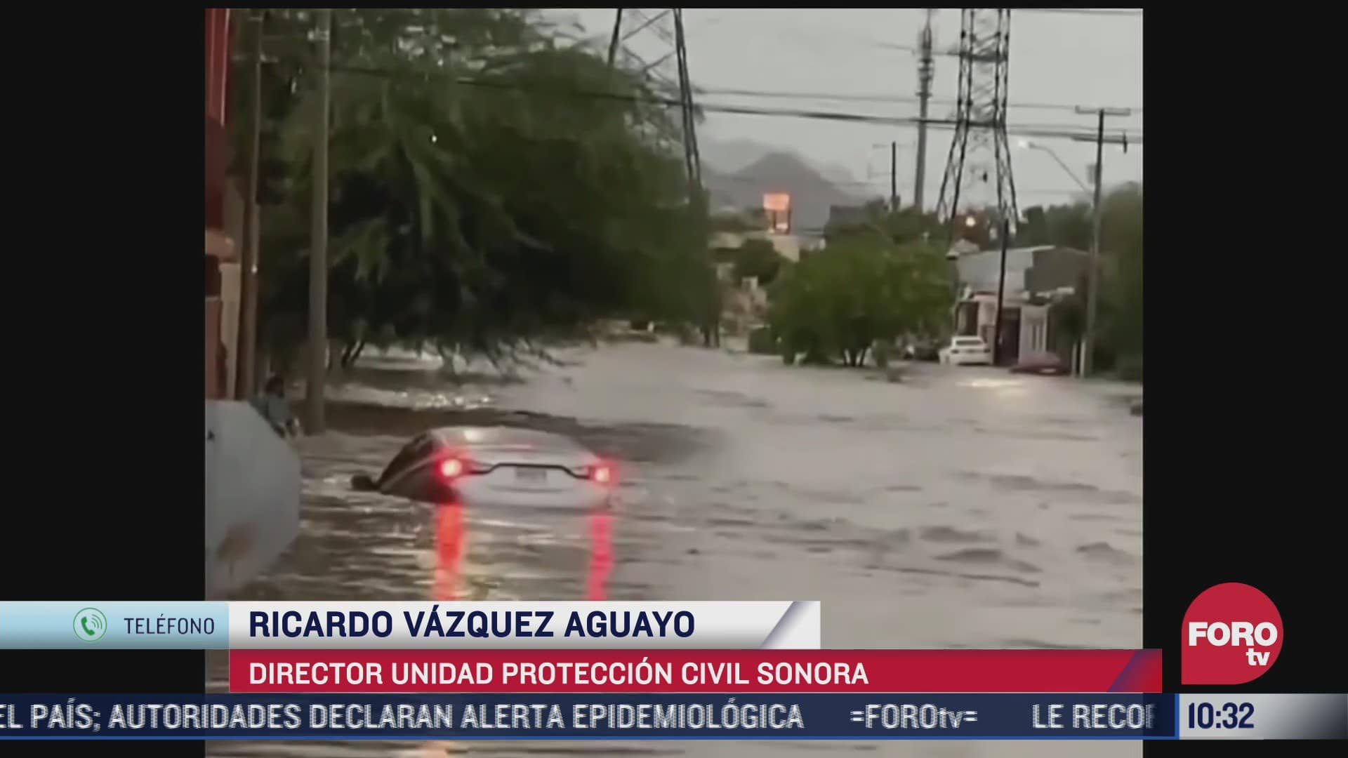 autoridades de sonora realizan acciones ante afectaciones por lluvias