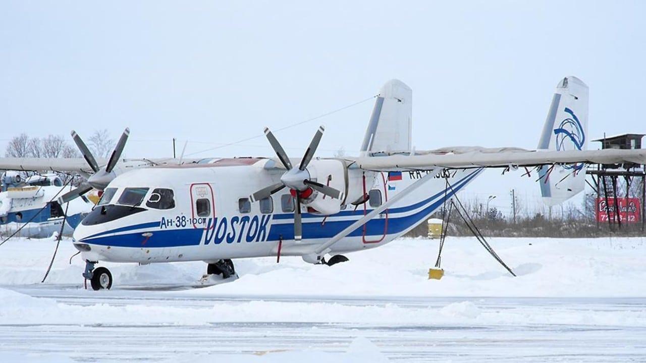 avion ruso desaparece